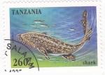 Stamps : Africa : Tanzania :  TIBURON