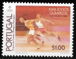Sellos de Europa - Portugal -  JJOO Los Ángeles 1984