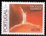 Sellos del Mundo : Europa : Portugal : JJOO Los Ángeles 1984