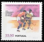 Sellos del Mundo : Europa : Portugal : Grandes acontecimientos deportivos de 1982