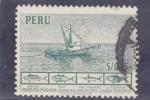 Stamps : America : Peru :  BARCO PESQUERO