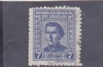 Stamps : America : Uruguay :  general José Artigas