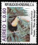 Sellos de America - Honduras -  Pájaros