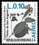 Sellos del Mundo : America : Honduras : Plantas medicinales