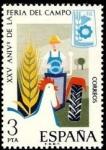 Sellos de Europa - España -  ESPAÑA 1975 2263 Sello Nuevo XXV Aniversario de la Feria del Campo Spain