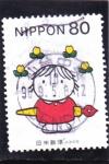 Stamps Japan -  DIBUJO ESCOLAR