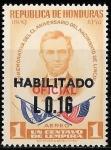 Sellos del Mundo : America : Honduras : CL Aniv. nacimiento de Lincoln