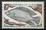 Stamps Chad -  Peces