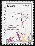 Sellos del Mundo : America : Honduras : L aniv. del Instituto Interamericano de cooperación agrícola