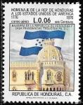 Sellos del Mundo : America : Honduras : Bicentenario de la independencia de EEUU