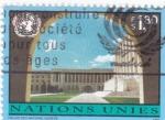 Stamps ONU -  PANORÁMICA PALACIO DE LAS NACIONES GINEBRA