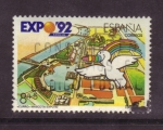 Stamps Spain -  EXPO'92