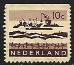 Stamps Netherlands -  Barcos