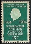 sello : Europa : Holanda : Reina Juliana