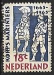 Sellos de Europa - Holanda -  Cuerpo de marines