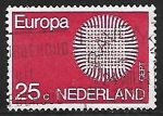 Stamps of the world : Netherlands :  Europa CEPT