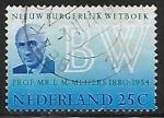 Sellos de Europa - Holanda -  Eduard Maurits Meijers (1880-1954)