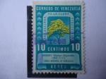 Sellos de America - Venezuela -  Araguaney-Árbol Nacional (Tabebuia chrysantha) -Pro Defensa de la Flora Venezolana