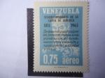 Sellos de America - Venezuela -  Sesquicentenario de la Carta de Jamaica 1815-1965