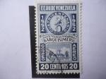 Stamps Venezuela -  EE.UU. de Venezuela - Estado de Miranda - Escudo de Armas