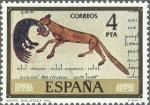 Stamps Spain -  ESPAÑA 1975 2287 Sello Nuevo Serie Códices Biblioteca Nacional