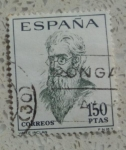 Stamps Spain -  1758