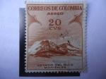 Sellos de America - Colombia -  Nevado del Ruiz - Manizales-Promoción del Turismo-
