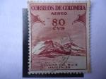 Stamps Colombia -  Nevado del Ruiz - Manizales-Promoción del Turismo-