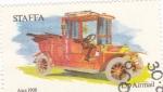 Sellos del Mundo : Europa : Reino_Unido : COCHES DE EPOCA-Ajax 1908