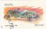 Sellos del Mundo : Europa : Reino_Unido : COCHES DE EPOCA-Isotta Fraschini 1908