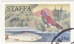 Stamps  -  -  STAFFA-ESCOCIA- intercambio