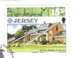 Stamps : Europe : United_Kingdom :  Europa (C.E.P.T.) 1987 - Arquitectura moderna, Villa Devereux, St Brelade