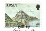 Stamps : Europe : United_Kingdom :  Europa (C.E.P.T.) 1978 - Arquitectura, Monte Orgueil
