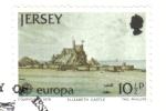 Stamps : Europe : United_Kingdom :  Europa (C.E.P.T.) 1987 - Arquitectura moderna, Castillo de Elizabeth