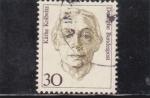Stamps Germany -  KATHE KOLLWITZ -PINTORA