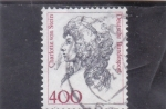 Stamps Germany -  CHARLOTTE STEIN-DAMA DE COMPAÑIA ...