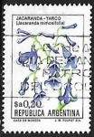 Stamps Argentina -  Jacarandá