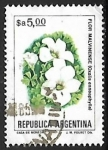 Stamps of the world : Argentina :  Flor Malvinense