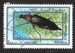 Stamps : Africa : Somalia :  Insectos