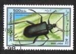 Sellos del Mundo : Africa : Somalia : Insectos