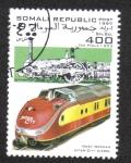 Stamps Somalia -  Tren