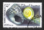 Stamps : Africa : Somalia :  Caracol