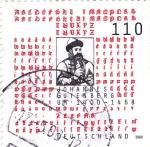 Sellos de Europa - Alemania -  JOHANNE GUTENBERG- inventor de la imprenta