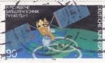 Sellos de Europa - Alemania -  Satélite Comunicaciones