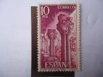 Sellos de Europa - España -  Ed:ES 2299 - Pilares del monasterio de san Juan de la Peña