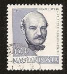 Stamps Hungary -  Personajes - Ignacio Felipe Semmelweis - Médico