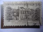 Sellos de America - Estados Unidos -  Casa del Presidente, James Buchanan (1791-1868) Décimo quinto Presidente de EE.UU