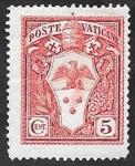 Sellos del Mundo : Europa : Vaticano : 44 - Escudo de armas de Pío XI