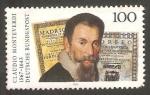 Stamps Germany -  1537 - Claudio Monteverdi, compositor