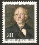 Sellos de Europa - Alemania -  Berlin - 328 - Theodor Fontane, escritor